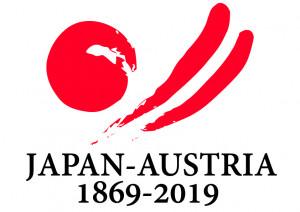 オーストリア150周年ロゴ